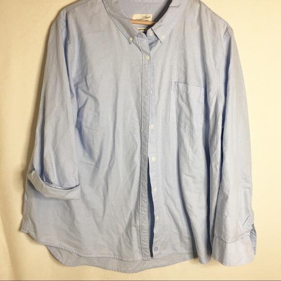 374543b6 Universal Thread Tops | S Camden Shirt Light Blue | Poshmark